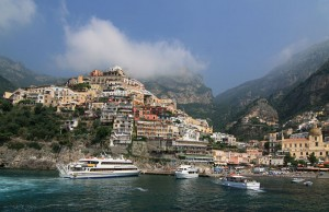 Positano l'attracco
